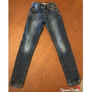 Justice Girls' Simply Low Jeans Size 7S